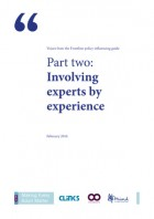 Involving experts by experience